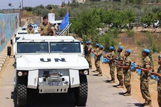 Asops Panglima TNI Kunjungi Markas Indobatt Konga XXIII-K/UNIFIL