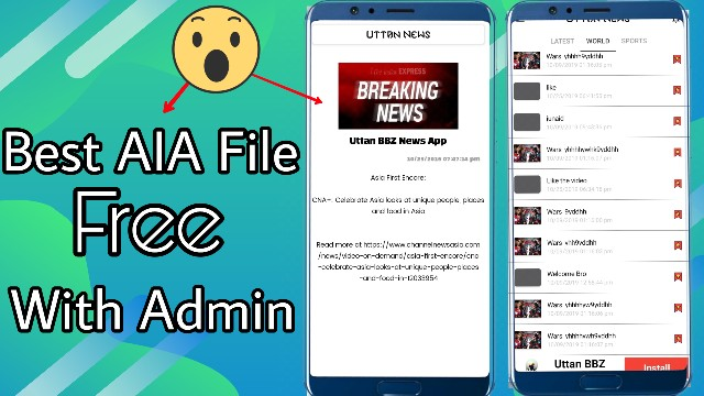 Breaking News Aia File