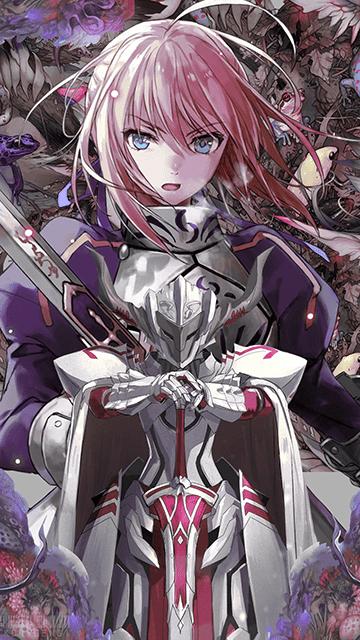 Artoria & Mordred - Fate/Grand Order Wallpaper