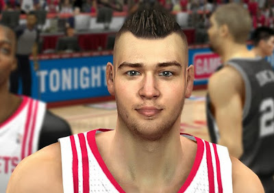 NBA 2K14 Donatas Motiejunas Hair Update