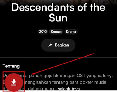 Download Drama Korea Descendant of The Sun VIU (Videoder)