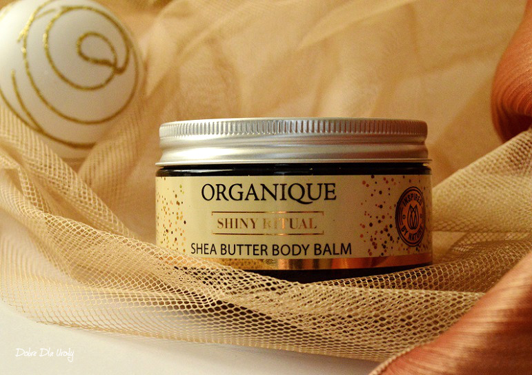 Organique Rytuał Shiny Luksusowy balsam z masłem Shea Shiny Ritual