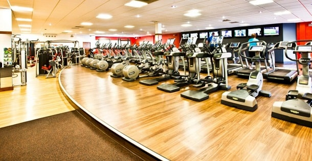 phòng tập gym tại athena 379 pháp vân