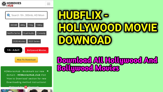 Hubflix Hollywood Bollywood 300 MB