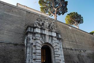 entrée principale des Musées Vatican