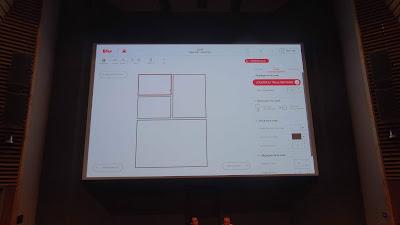 BDnF, application BD numérique publiée par la BnF, option