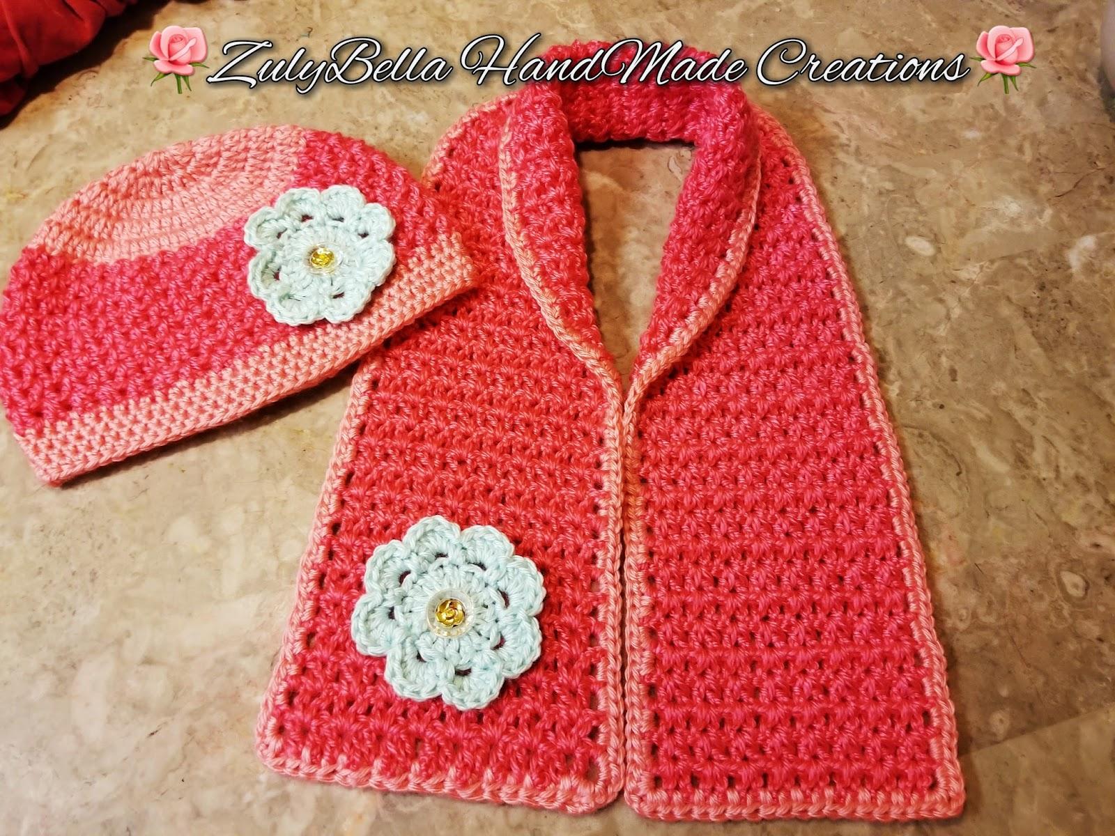 Bufanda y Gorro a Crochet - Facil de Tejer - Paso a Paso