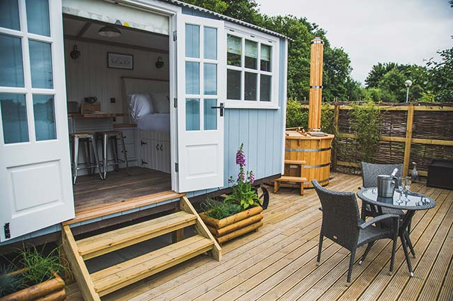 20 Lodges with Hot Tubs within a 90 minute drive of York  - Dacre Lakeside Park