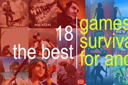 Baru 18 Game Survival Terbaik di Android Fix