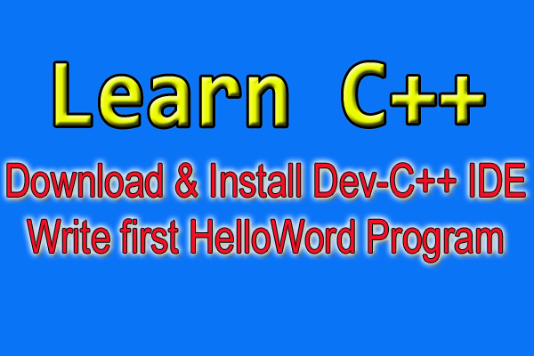 download and install dev c++