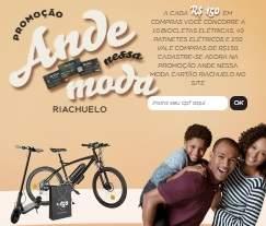 Cadastrar Promoção Riachuelo Ande Nessa Moda - Bicicletas e Patinetes Elétricos Vales-Compras