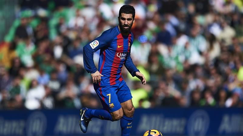 Barcelona's Arda Turan sentenced for gunfire in hospital