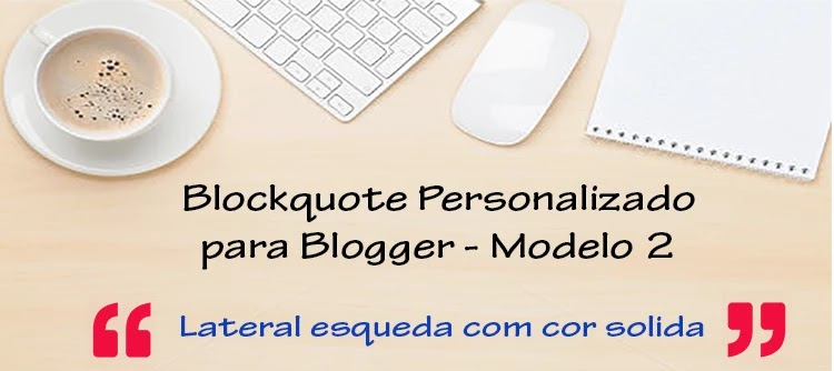 Blockquote do blog