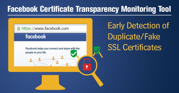 How Certificate Transparency Monitoring Tool Helped Facebook Early Detect Duplicate SSL Certs