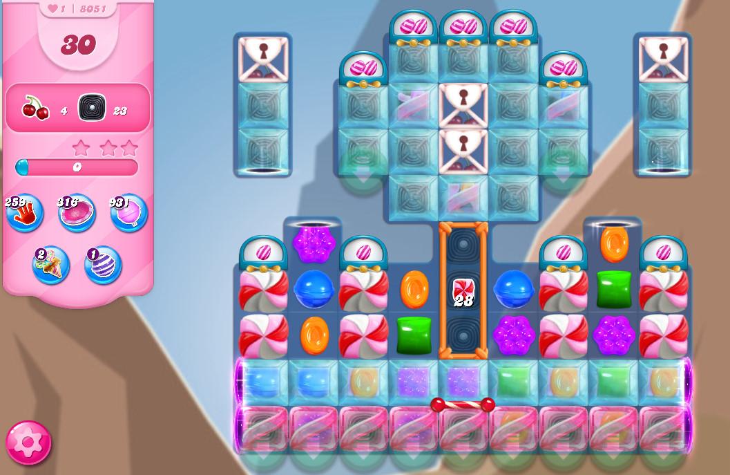 Candy Crush Saga level 8051