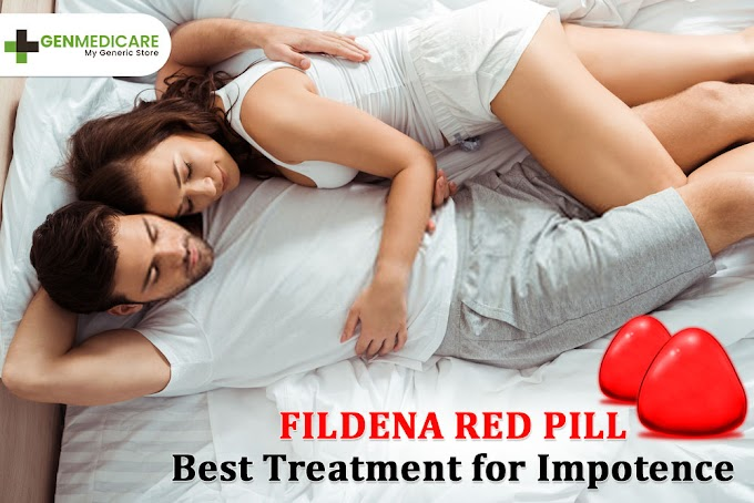 Fildena Red Pill: Best Treatment for Impotence