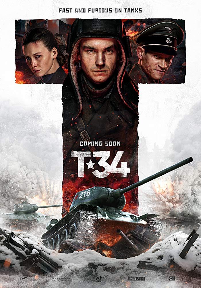 T-34 2018 Russian Movie Bluray 720p With E-sub