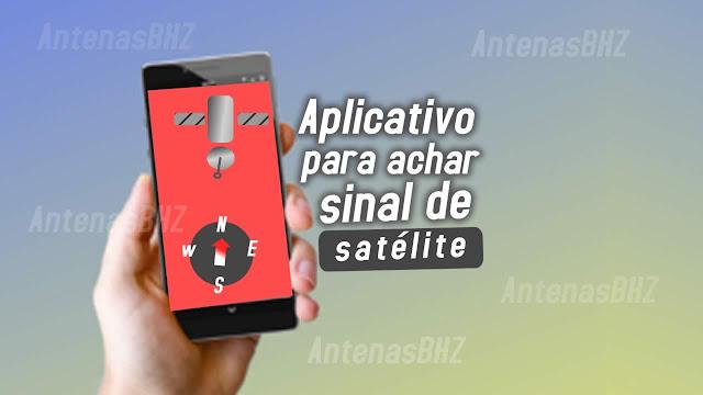 aplicativo para achar sinal de satélie