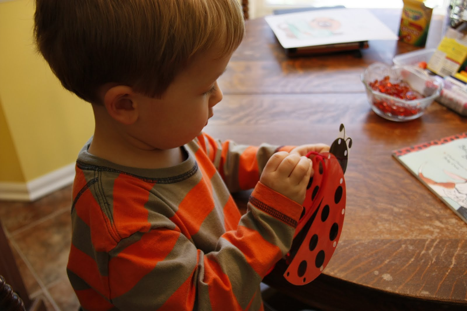 Snippets It S The Little Things Preschool Corner L Is For Ladybugs