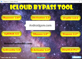 Iphone iCloud T-Bypass Tool v1.1 Unlock Tool Latest Update 2020-21 Free Download To AndroidGSM