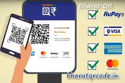 Bharat QR Payment app