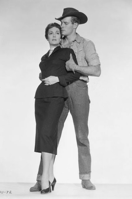 1955. Jane Wyman, Charlton Heston - Lucy Gallant