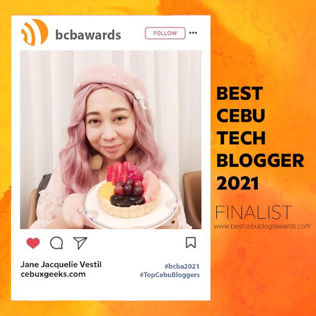 BEST CEBU BLOGS AWARDS 2021 – TECH BLOG CATEGORY