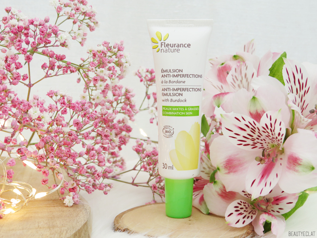 avis fleurance nature emulsion anti imperfections