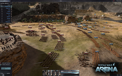 total war arena formaciones
