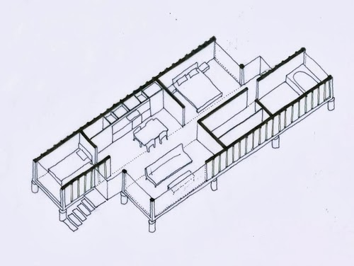 02-Perspective-Floor-Plan-Recycled-Container-House-Architect-Benjamin-Garcia-San-Jose-Costa-Rica-Solar-Panels-Recycled-Metal-www-designstack-co