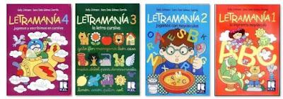 colección en pdf de Letramanía 1, 2 ,3 y 4