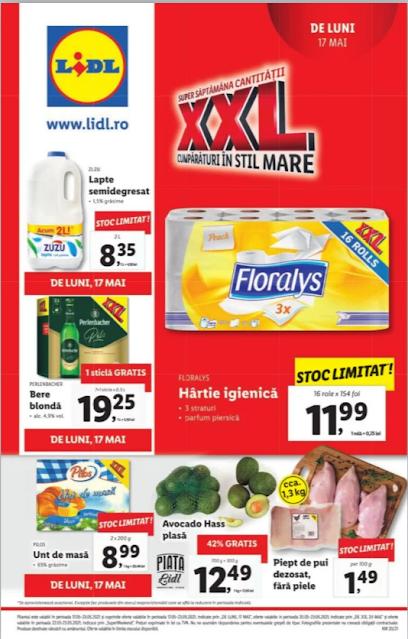 LIDL catalog brosura    17-23.05 2021
