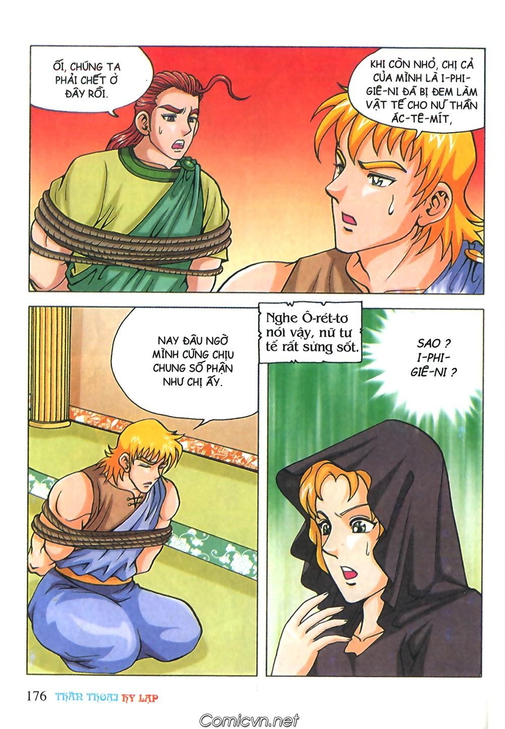 Thần Thoại Hy Lạp Màu - Chapter 71: Nàng Ê lếch tơ 2 - Pic 27