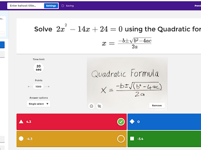 Two Great Kahoot Features for Math Teachers