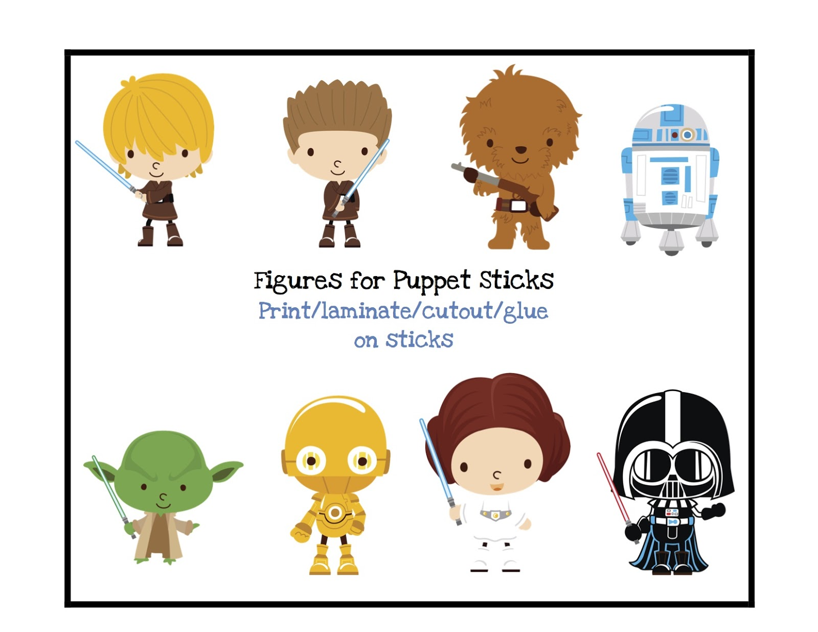 image regarding Star Wars Printable named Some of the Least complicated Factors within just Lifestyle are Errors: Free of charge Famous people
