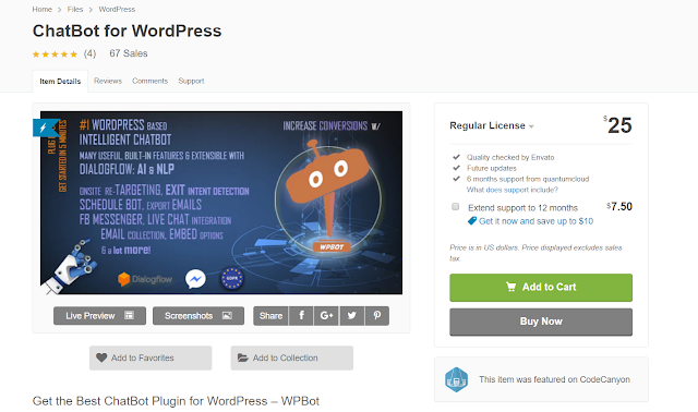 ChatBot for WordPress| For Free download|