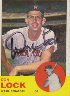1963 Topps, Don Lock