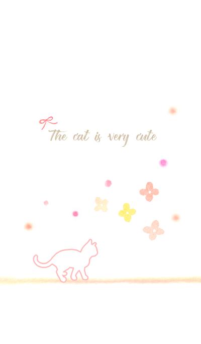 cute cat-pink