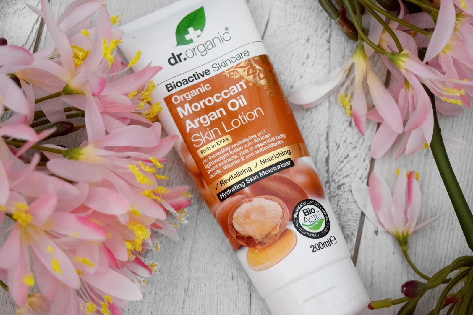 DR Organic Moroccan Argan Oil Skin Lotion