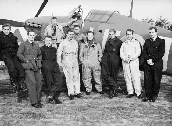 21 August 1940 worldwartwo.filminspector.com Douglas Bader RAF No. 242 Squadron