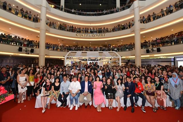 Park Shin Hye, Park Shin Hye in Kuala Lumpur, Mamonde Ambassador, Mamonde, Red Energy Recovery Serum, Watsons, Beauty, k beauty, k pop,