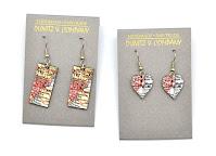 Map Earrings from Dunitz