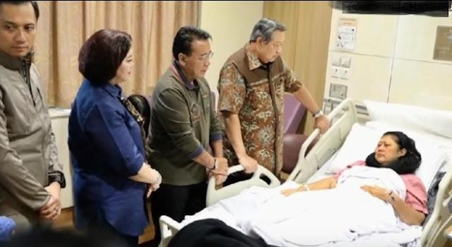 Benarkah Ani Yudhoyono meninggal dunia?