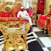 (Photos) E-money's gold chairs/furniture got some IG users in a frenzy