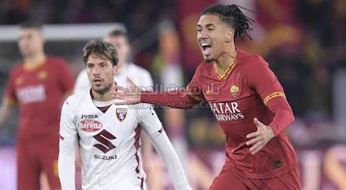 روما يسقط على ملعبه من امام تورينو بثنائية في الجولة 18 من الدوري الايطالي