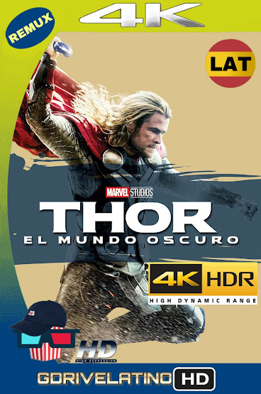 Thor: Un Mundo Oscuro (2013) BDRemux 4K HDR Latino-Ingles MKV