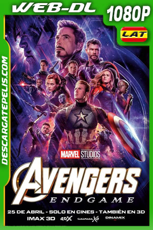 Avengers: Endgame (2019) 1080p WEB-DL Latino – Ingles
