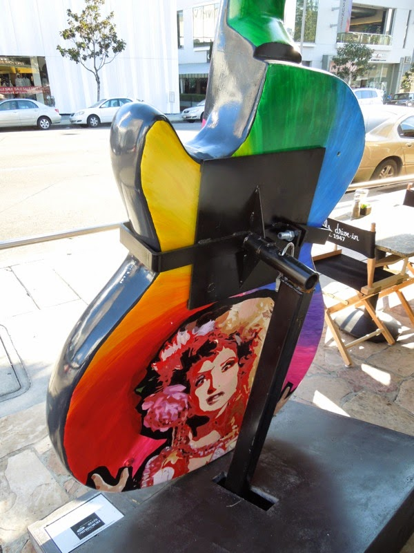 Cyndi Lauper GuitarTown design back