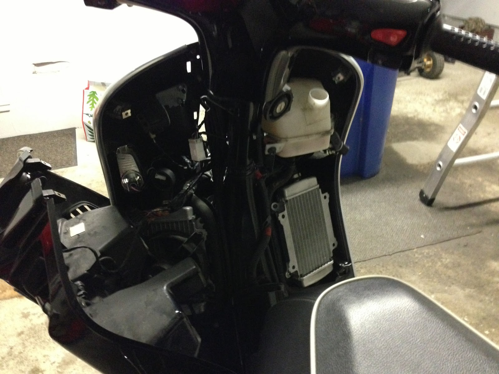 hight resolution of now disconnect and remove the stock vespa horn the wires that are connected to the