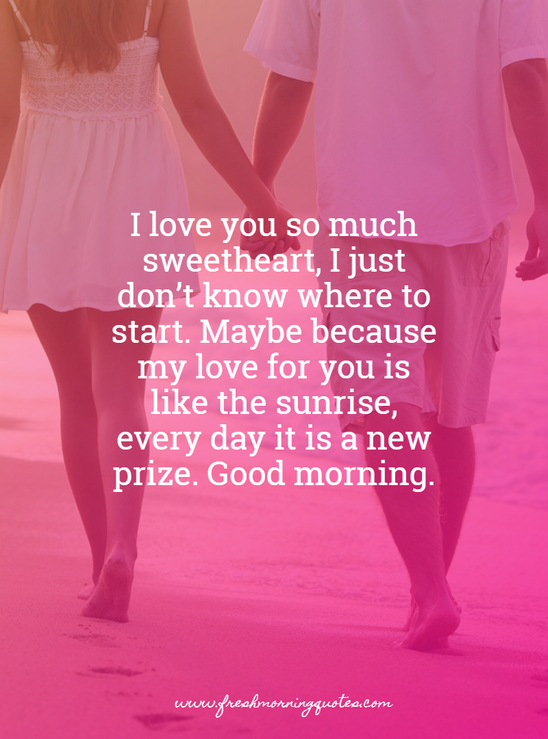 my sweet wife Good Morning Messages for Wife